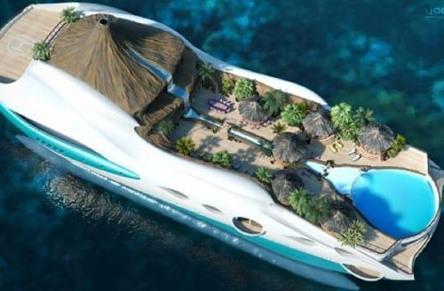 Schönste yacht der welt  Eine ganze Insel auf der Yacht - ebookers Deutschland Reiseblog